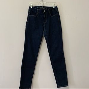 American Eagle Dark Wash Jegging Stretch Jeans